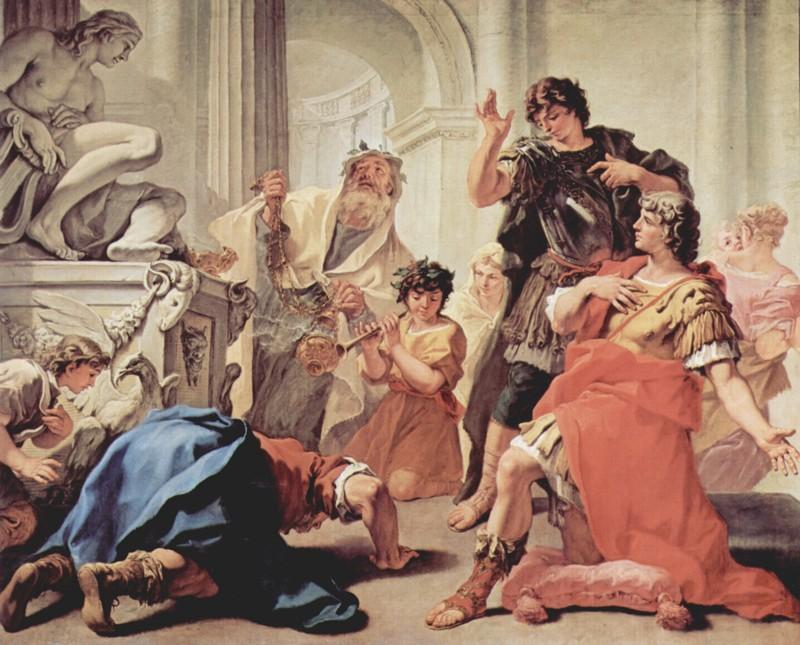 00 - Sebastiano Ricci, Brutus embrassant la terre-mini