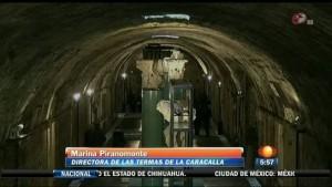 (video) Les sous-terrains des thermes de Caracalla