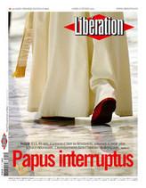 Papus Interruptus : suite à l'annonce de la démission du pape, Libération titre et publie son édito en latin !