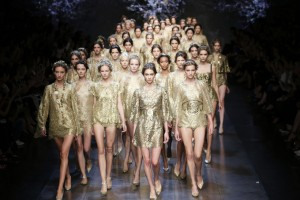 Fashion Week de Milan. Les déesses grecques de Dolce & Gabbana