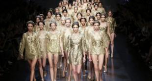 Fashion Week de Milan. Les déesses grecques de Dolce & Gabbana
