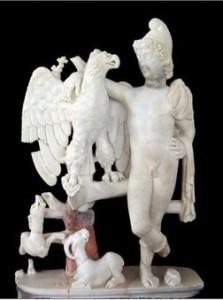 Vol de Ganymède, une précieuse pièce antique à Carthage