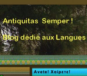 Antiquitas Semper !