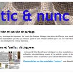 Tic et Nunc