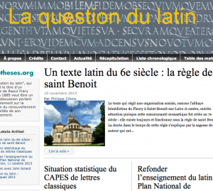 La Question du Latin