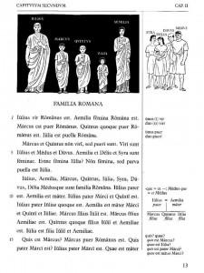 Extrait méthode Orberg - Capitulum secundum - Familia Romana