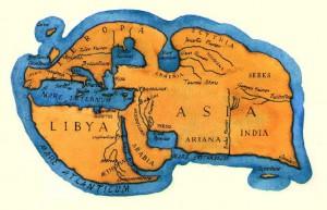 Le monde vu par Strabon au Ier siècle avant J-C