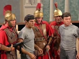 Le Top 5 des épisodes de  Star Trek en lien avec l'antiquité