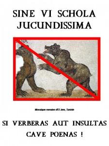 Affiche en latin