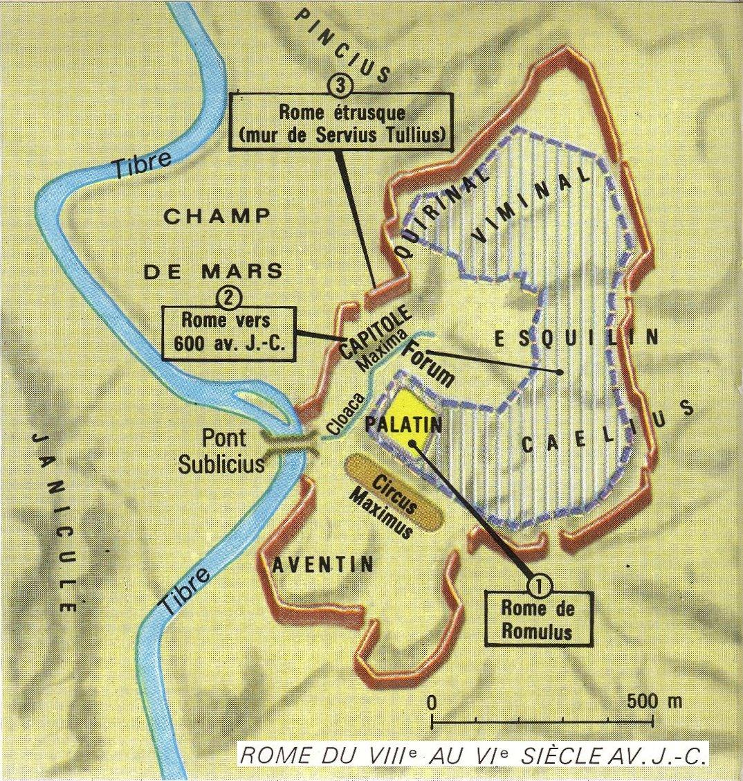 carte de rome antique Rome – Arrête ton char