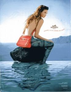 Publicité Hermès : La vie comme dans un conte (sirène)