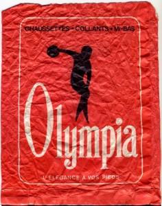 Olympia et le discobole