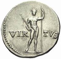 Les 3 vertus romaines : virtus, fides et pietas