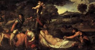 La Vénus du Pardo (Jupiter et Antiope), Le Titien (entre 1535-1540, retravaillée en 1560)