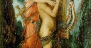 Hésiode et la Muse, Gustave Moreau (1891)