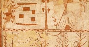 Nécropole de Monterozzi (Tarquinia) : tombe des taureaux