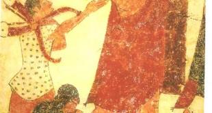Nécropole de Monterozzi (Tarquinia) : tombe des augures