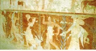 Nécropole de Monterozzi (Tarquinia) : tombe des Biges