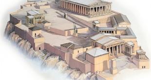 L'Acropole d'Athènes, cadre naturel et historique
