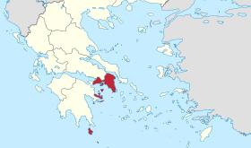 L'Attique (région d'Athènes)