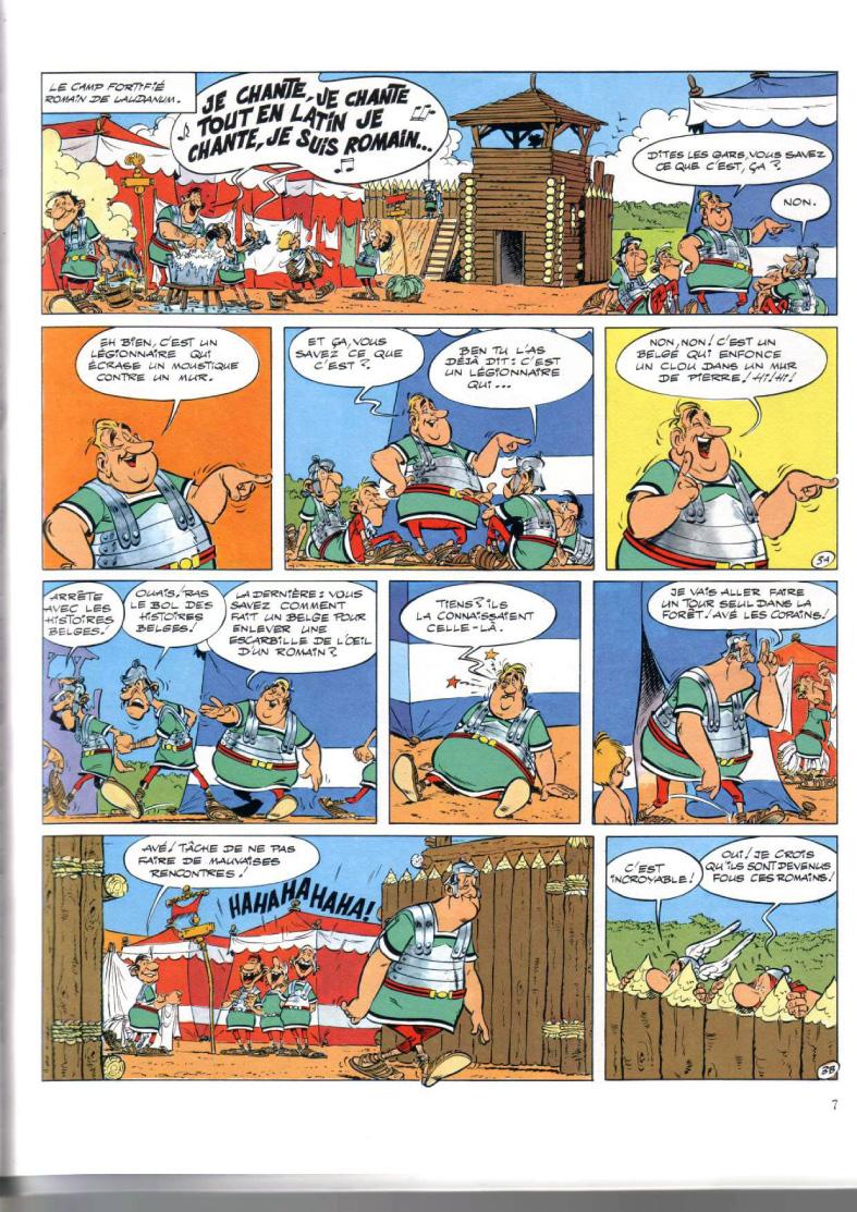 Obelix asterix pdf and