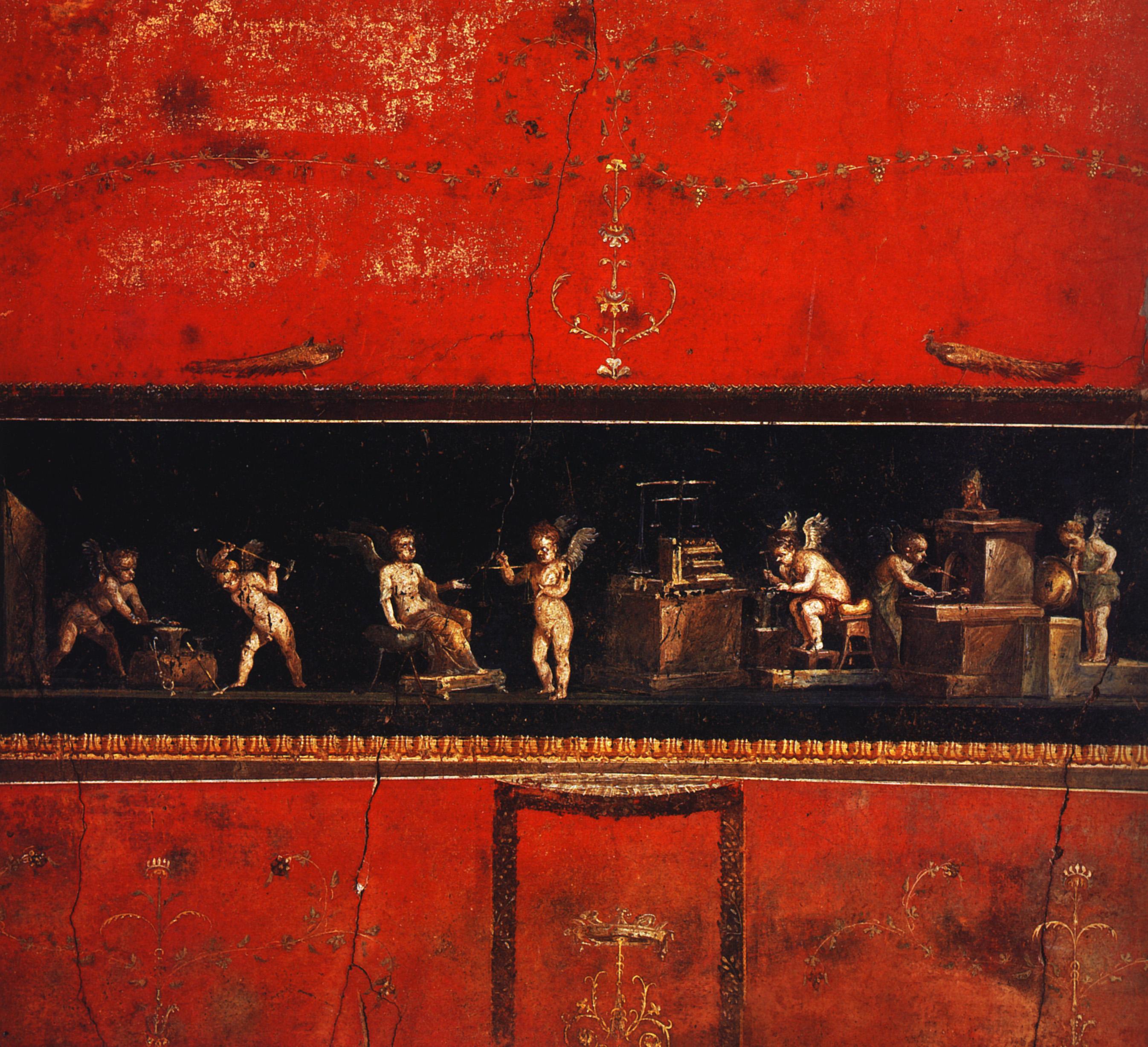 Rome fresques ier s a c iv s p c arr te ton char - Maison de la parfumerie ...