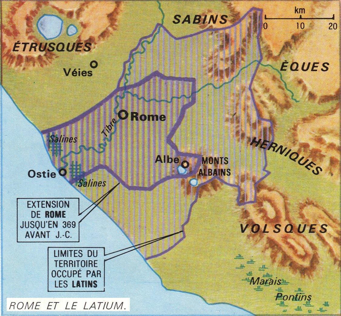 carte-routiere-pour-faire-rome-albe