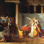 Niveau 4ème - Commenter un tableau de David en latin