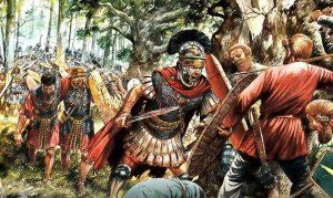 Documentaire, Questionnaire et Corrigé : Rome, Grandeur et Décadence d'un Empire - #4 : La forêt de la mort