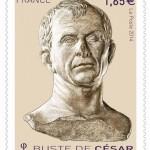 César est timbré !