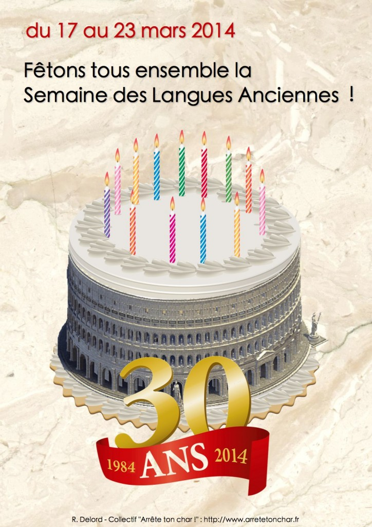 Affiche semaine Langues Anciennes 2014 - SMALL