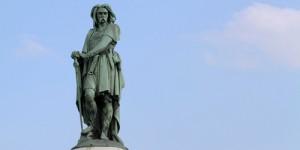 Sur le site d'Alésia, la statue de Vercingétorix classée monument historique