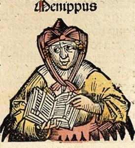 LUCIEN DE SAMOSATE : Ménippe ou la Consultation des Morts.