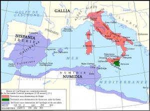 Les conquêtes romaines