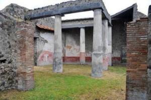 Trois nouvelles domus à Pompéi