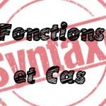 Parcours de révision : Fonctions et Cas