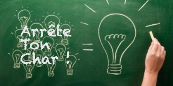 Faites nous part de vos idées et suggestions pour l'avenir du site et du Collectif «Arrête ton char !»
