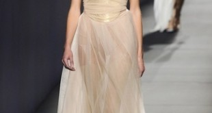 La Grèce antique s'invite à la fashion week..