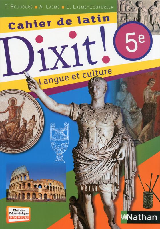 Dixit Cahier De Latin 5eme Arrete Ton Char