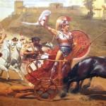 Lecture cursive : la Guerre de Troie