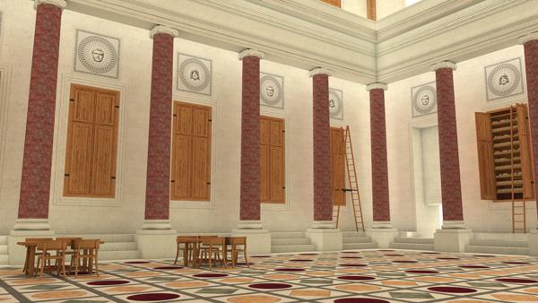 Bibliothèque des thermes de Caracalla