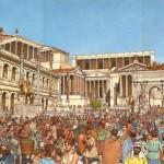 Lecture cursive : le Forum Romain