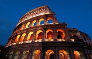 Il grave son initiale sur le Colisée: 20.000 euros d'amende