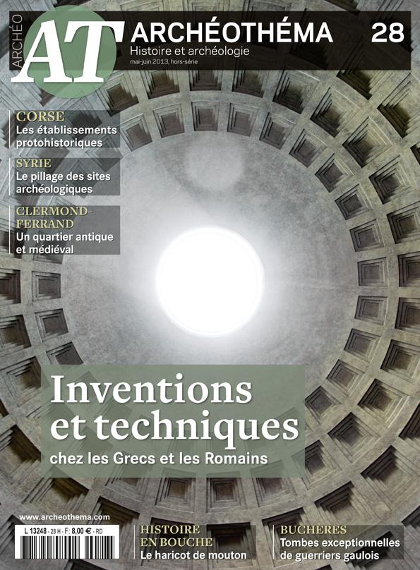 inventions et techniques chez les grecs et les romains