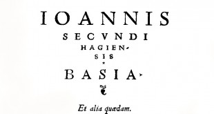 Le livre des baisers (Basiorum liber)