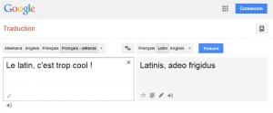 """""""Google Traduction"""", une nouvelle divinité à honorer ?"""
