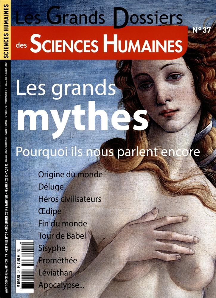 grands mythes sciences humaines