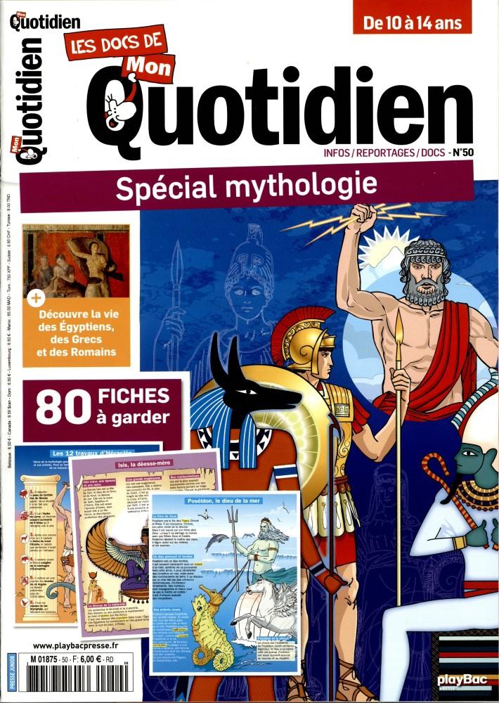 docs de mon quotidien 50 mythologie