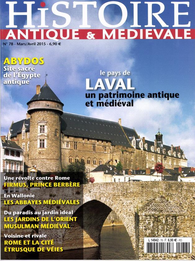 histoire antique et médiévale mars 2015 véies