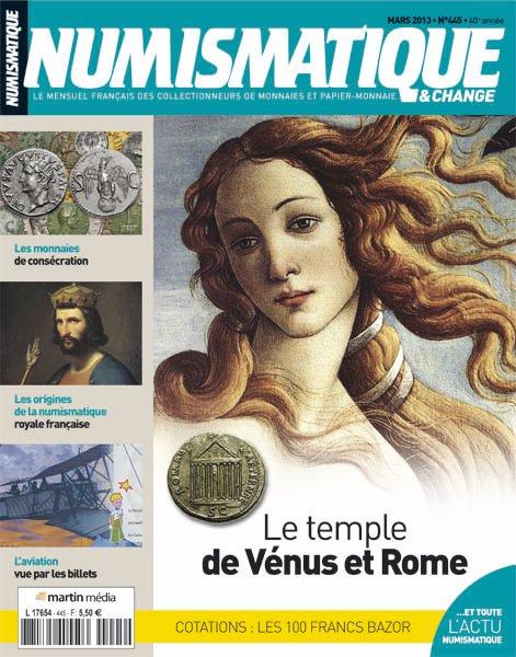 numismatique 445 venus rome